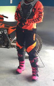 Kit motocross femme