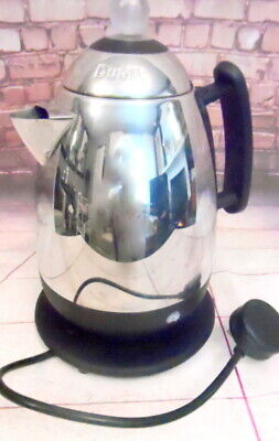 Dualit 84036 10 Cups Coffee Maker Percolater chrome, used for sale  Shipping to South Africa