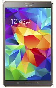 """Samsung Galaxy Tab S (SM-T705W) 8.4"""" 4G 16GB LTE Bell"""