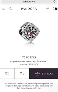 LOOKING TO BUY THIS PANDORA CHARM! CAN MEET UP ASAP!
