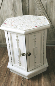 Hand painted mosaic table