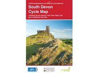 South Devon cycle map