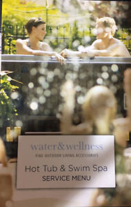 Hot Tub and Swim Spa services