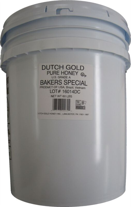 Bakers Special Pure Honey 60 Lbs