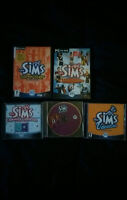 Sims deluxe + 4 expension PC