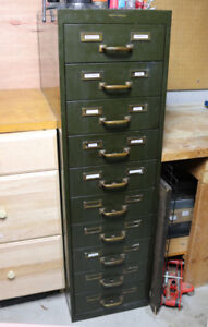 PICK UP TODAY DISCOUNT $400 - Vintage Industrial Tanker Cabinet