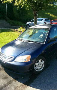2001 Honda Civic manuel