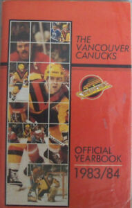 Vancouver Canucks media guides (Neely, Gradin, Smyl autographed)