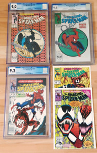 The Amazing Spiderman 300 CGC Comic Books