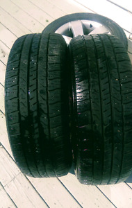 P225/65 R17 Tires and Rims