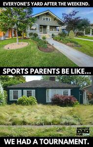 Busy Parents' Lawn Care & Maintenance