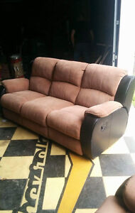 Fully reclining Couch and chair