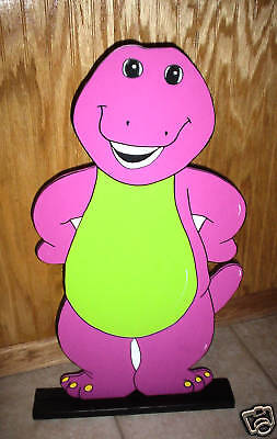 Barney Birthday Decorations (Barney stand up children's Birthday party decorations)