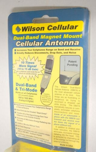 Wilson Electronics 12-inch Dual Band Magnet-Mount Antenna w/