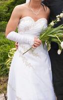 Robe de mariées ou de balle blanche - Dress bridal or ball white