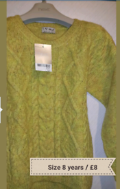 Boys NEXT Winter Blouse Top Size 8 Years