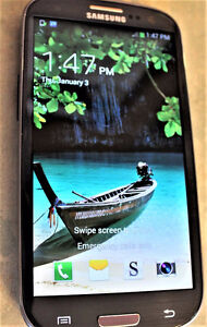 Samsung Galaxy S3 w/Otterbox Case,New Buds, Locked to Rogers