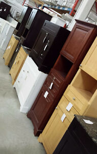 BEAUTIFUL CABINETS ON SALE UP TO 80% OFF! SOLID WOOD! Kitchener / Waterloo Kitchener Area image 3