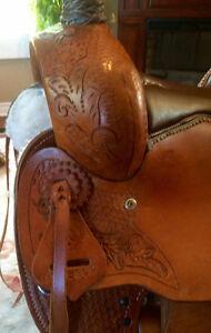 "Brand New 17"" Western Saddle Kingston Kingston Area image 4"