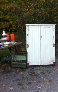 RUSTIC AND ECLECTIC YARD SALE