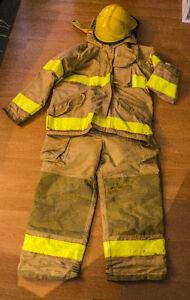 Bunker - habit de pompier (manteau et pantalon)