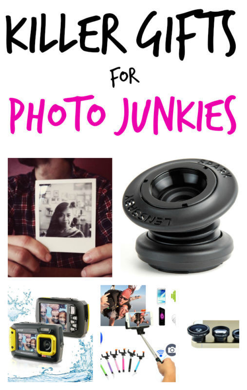 Killer Gifts for Photo Junkies