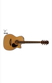 The Freshman FA1AN electro acoustic guitar.
