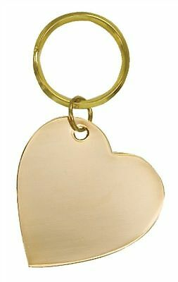 Heart Keychain, Heart Key Ring Engraved  Personalization Included