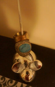 Vintage Silver Mouse Jewellery Ring Display Holder Kitchener / Waterloo Kitchener Area image 1