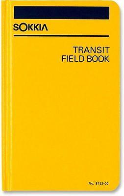 New Sokkia Transit Field Book 815200