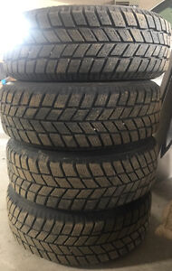 Set of All Seasons Radial and Winter Tires