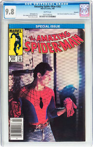 AMAZING SPIDERMAN 262 CGC GRADED 9.8