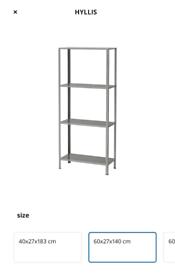 IKEA Shelves metal