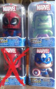 Marvel Might Muggs Figures (3 for $30 - new)