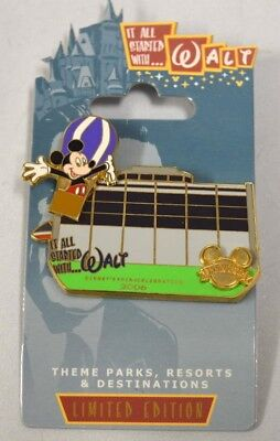 It All Started with Walt Contemporary Resort LE 750 Disney Pin