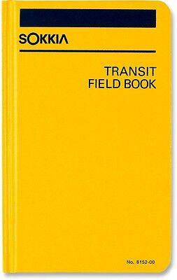 New Sokkia 815200 Transit Field Book