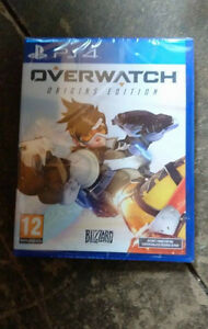 Overwatch for PS4 - Brand New, Sealed