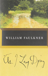 As I Lay Dying-William Faulkner-Terrific copy/softcover