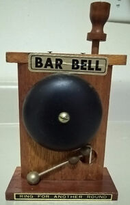 Vintage Butler Bar Bell Ring for Another Round