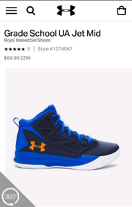 Under armour Baseketball Shoes - Brand new in box