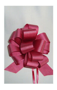5 inch Pull-String Bows -- Reel of 50 gift and decor bows Cambridge Kitchener Area image 1