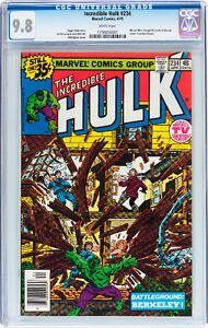 INCREDIBLE HULK 234 CGC GRADED 9.8 FIRST APPEARANCE OF QUASAR