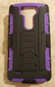 LG G3 Vigor, Mini - Case with Belt Clip & Kickstand