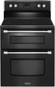 30'' Maytag double oven range with convection, NEW in box