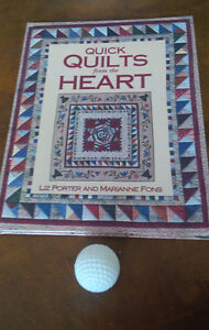 Quick Quilts From the Heart, Porter and Fons Kitchener / Waterloo Kitchener Area image 1