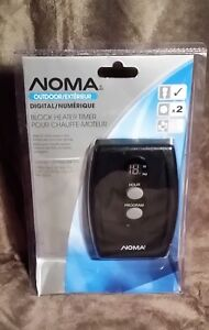 Noma Outdoor Block Heater Timer - Outdoor Plug on a Timer