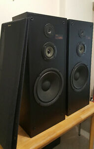tower speakers-receiver's amplifiers-subwoofer