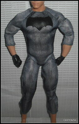 BODYSUIT KEN DOLL MATTEL BATMAN V SUPERMAN BAT UNIFORM SUIT UNIFORM CHEST PLATE](Superman Chest Plate)