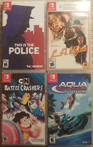 Brand new nintendo switch games