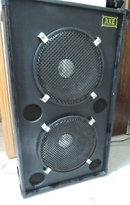 """Axe Systems Dual 15"""" Cabinet Loaded with JBL E140-8 Drivers"""